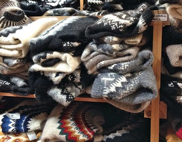 Knitting Events London : Knitting in iceland to october